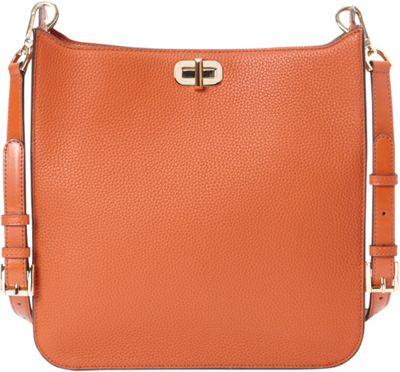 MICHAEL Michael Kors Sullivan Large NS Messenger Orange - MICHAEL Michael Kors Designer Handbags