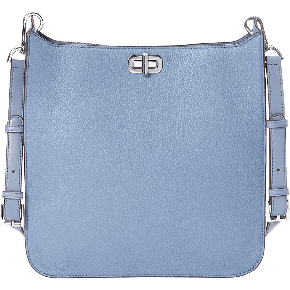 MICHAEL Michael Kors Sullivan Large NS Messenger Denim - MICHAEL Michael Kors Designer Handbags