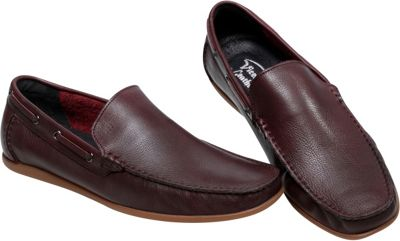 Vicenzo Footwear Brazo Leather Mens Moccasin Loafer 11 - Brown - Vicenzo Footwear Men's Footwear