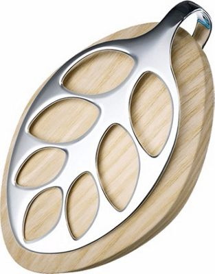 Bellabeat Leaf Nature Activity & Health Tracker Tan/Silver - Bellabeat Wearable Technology