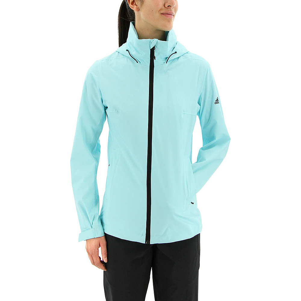adidas outdoor Womens Wandertag Jacket L - Clear Aqua - adidas outdoor Womens Apparel - Apparel & Footwear, Women's Apparel