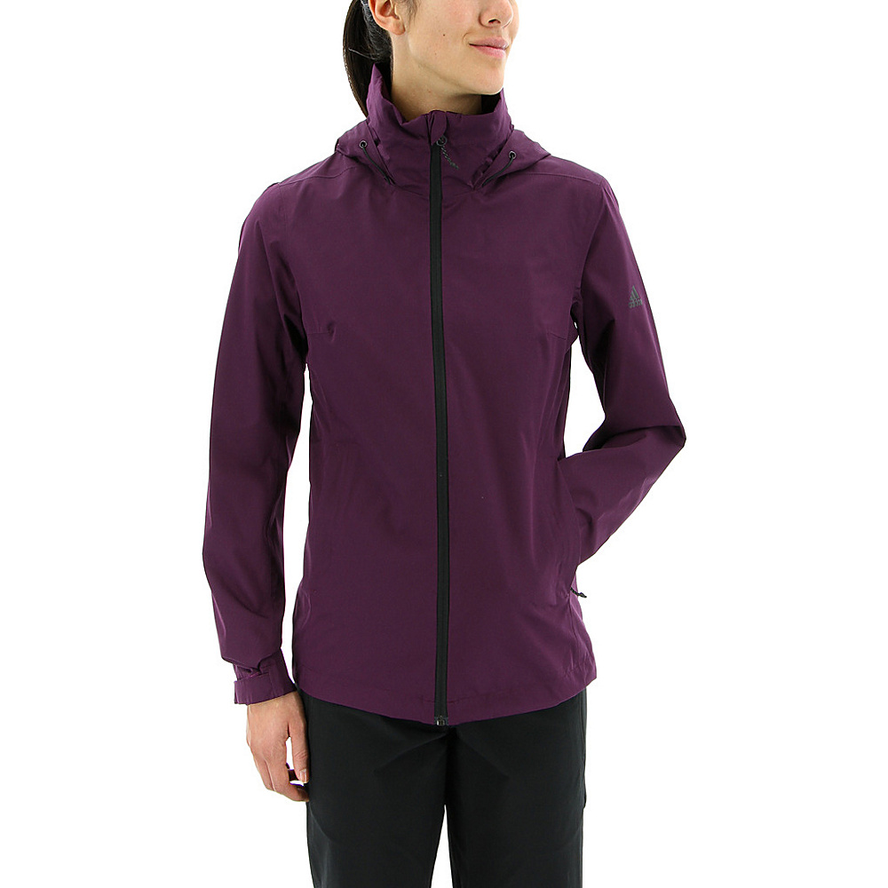 adidas outdoor Womens Wandertag Jacket L - Red Night - adidas outdoor Womens Apparel - Apparel & Footwear, Women's Apparel