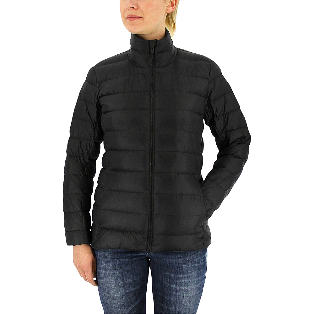 adidas apparel Womens Light Down Jacket M Black Utility Black adidas apparel Women s Apparel