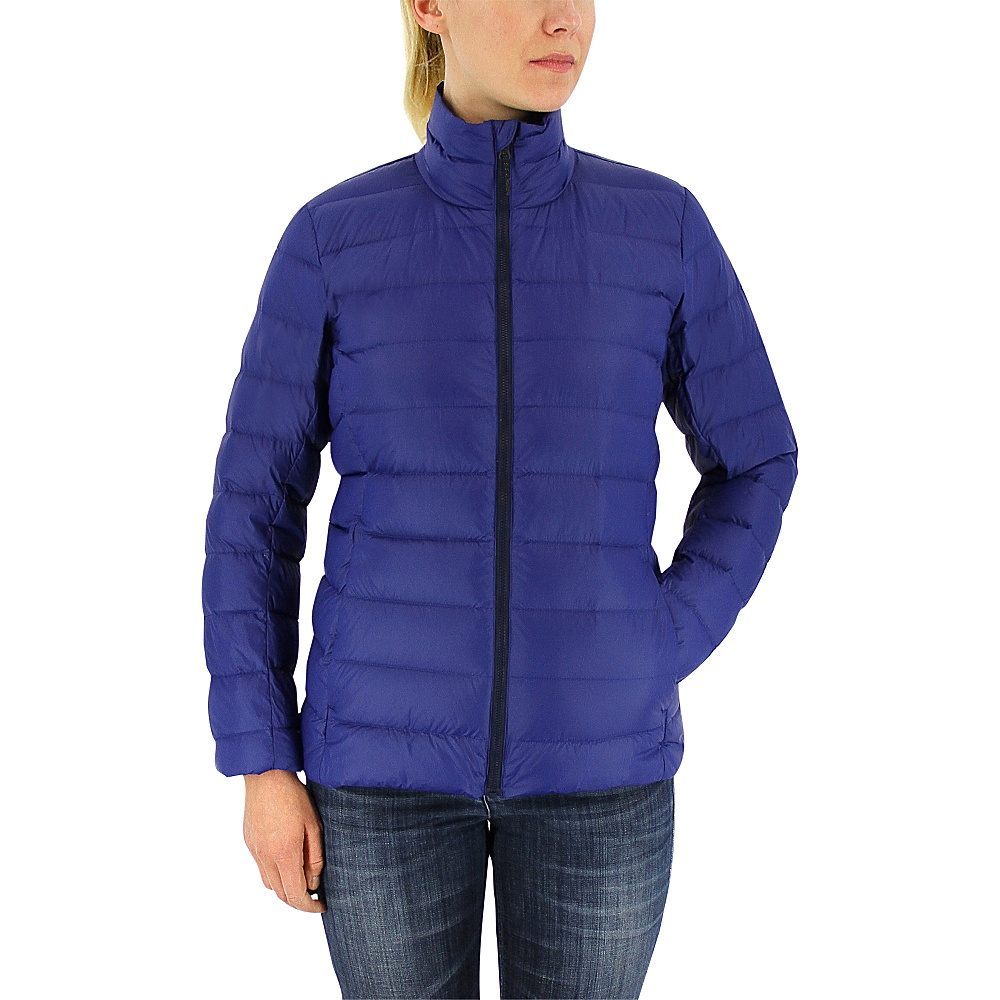 adidas apparel Womens Light Down Jacket XS Unity Ink Col. Navy adidas apparel Women s Apparel