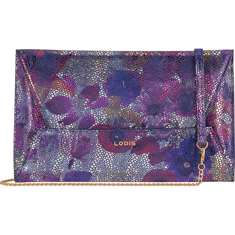 Lodis Vanessa Variety Betsy Clutch Crossbody Multi - Lodis Leather Handbags - Handbags, Leather Handbags
