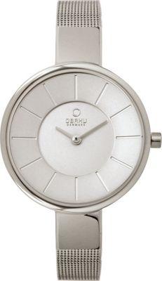 Obaku Watches Womens Stainless Steel Mesh Watch Silver/Silver - Obaku Watches Watches