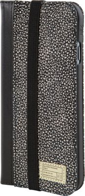 HEX Icon Wallet for iPhone 6/6S Black/White Stingray - HEX Electronic Cases