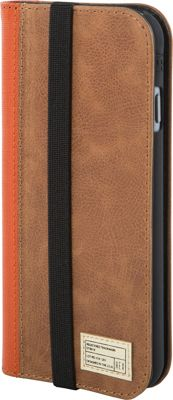 HEX Icon Wallet for iPhone 6/6S Brown Woven Leather - HEX Electronic Cases