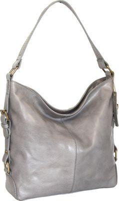 Nino Bossi Lily Blossom Shoulder Bag Stone - Nino Bossi Leather Handbags