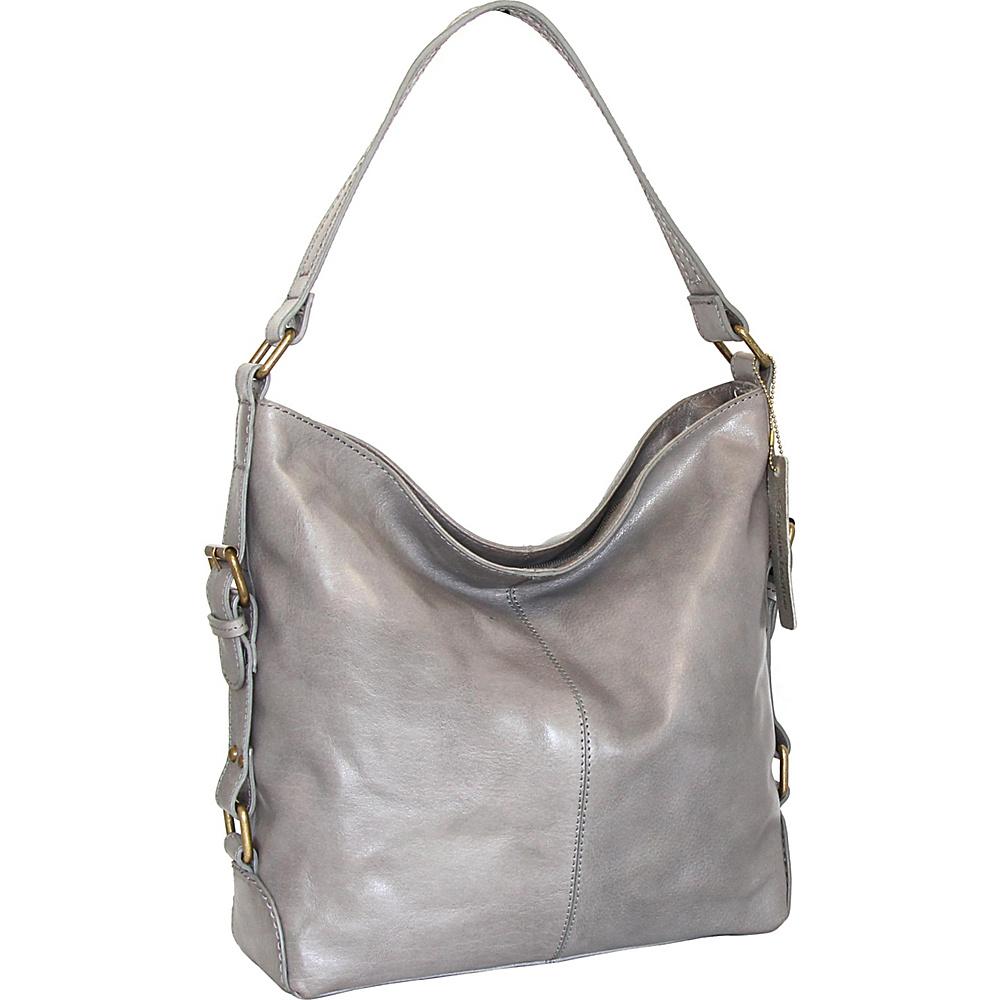 Nino Bossi Lily Blossom Shoulder Bag Stone - Nino Bossi Leather Handbags - Handbags, Leather Handbags