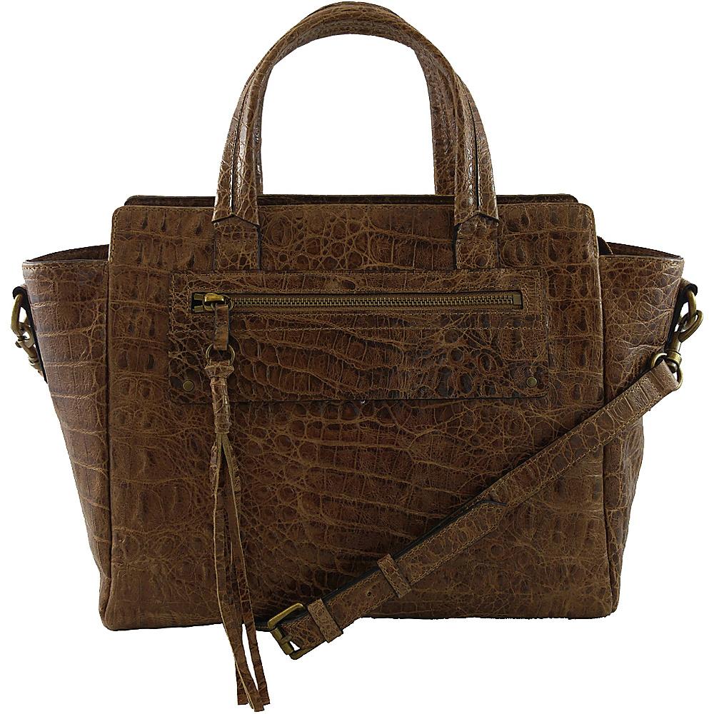 Joelle Hawkens by treesje Lidia Small Satchel Chestnut Joelle Hawkens by treesje Designer Handbags