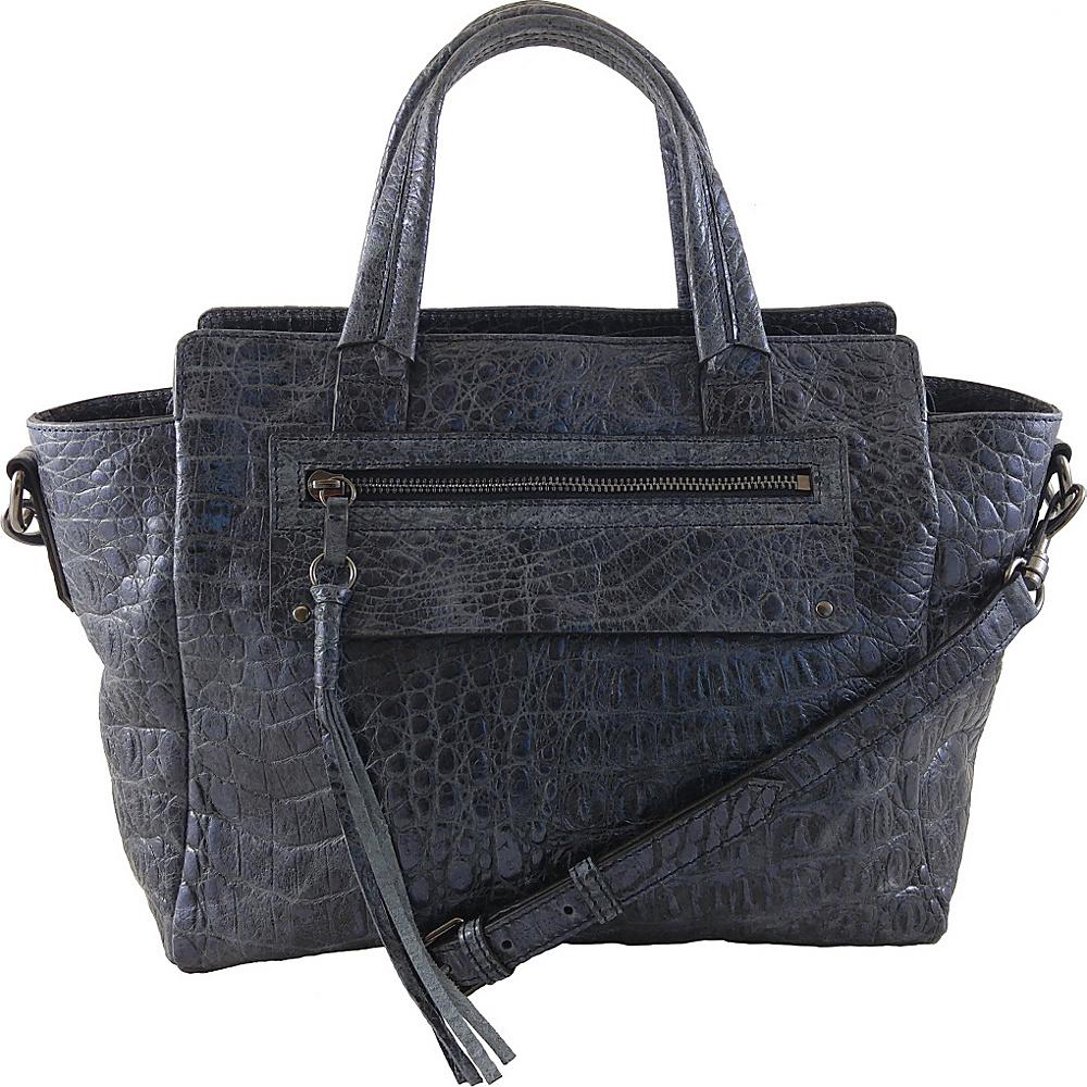 Joelle Hawkens by treesje Lidia Small Satchel Blue Ice Joelle Hawkens by treesje Designer Handbags