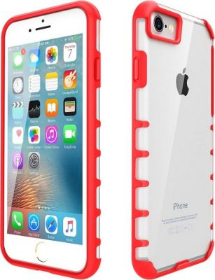 LAX Gadgets iPhone 7 Trendy Case Red - LAX Gadgets Electronic Cases