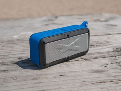 Touch of Eco Rayjam Solar Powered Speaker Blue - Touch of Eco Headphones & Speakers