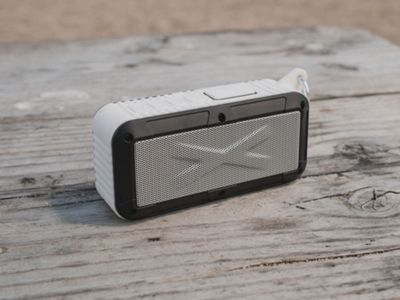 Touch of Eco Rayjam Solar Powered Speaker White - Touch of Eco Headphones & Speakers