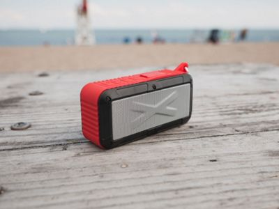 Touch of Eco Rayjam Solar Powered Speaker Red - Touch of Eco Headphones & Speakers