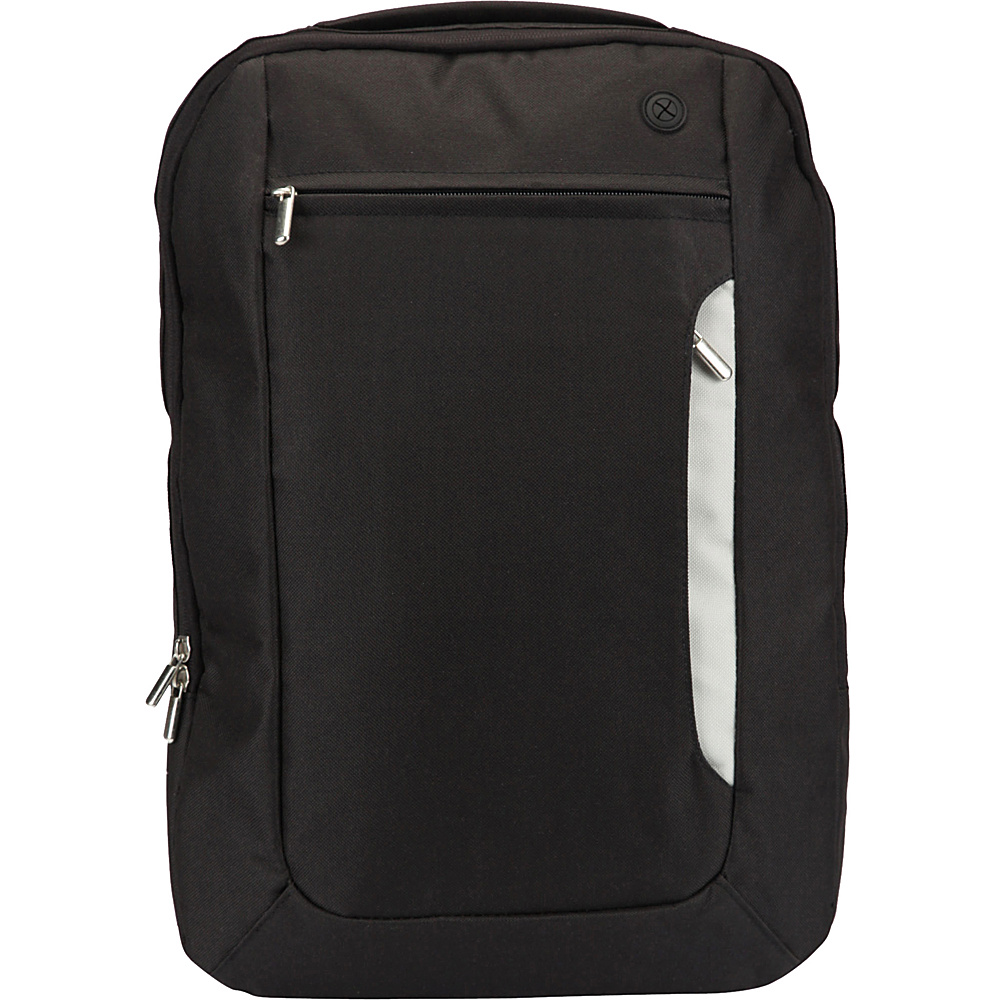 1Voice The Sentinel RFID Blocking Backpack Black 1Voice Business Laptop Backpacks