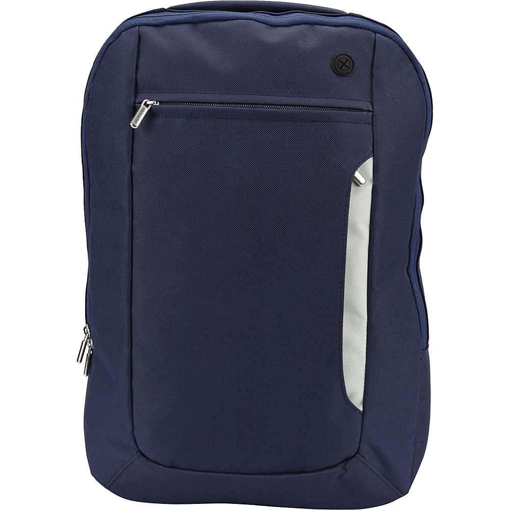 1Voice The Sentinel RFID Blocking Backpack Blue 1Voice Business Laptop Backpacks