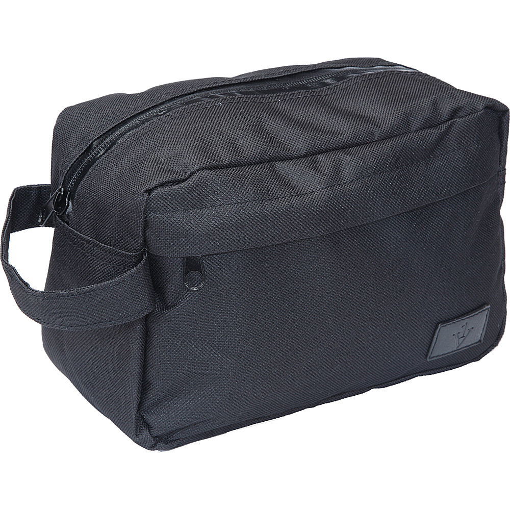 1Voice The Complete Toiletry Bag With built in 2 200mAh Charger Black 1Voice Toiletry Kits