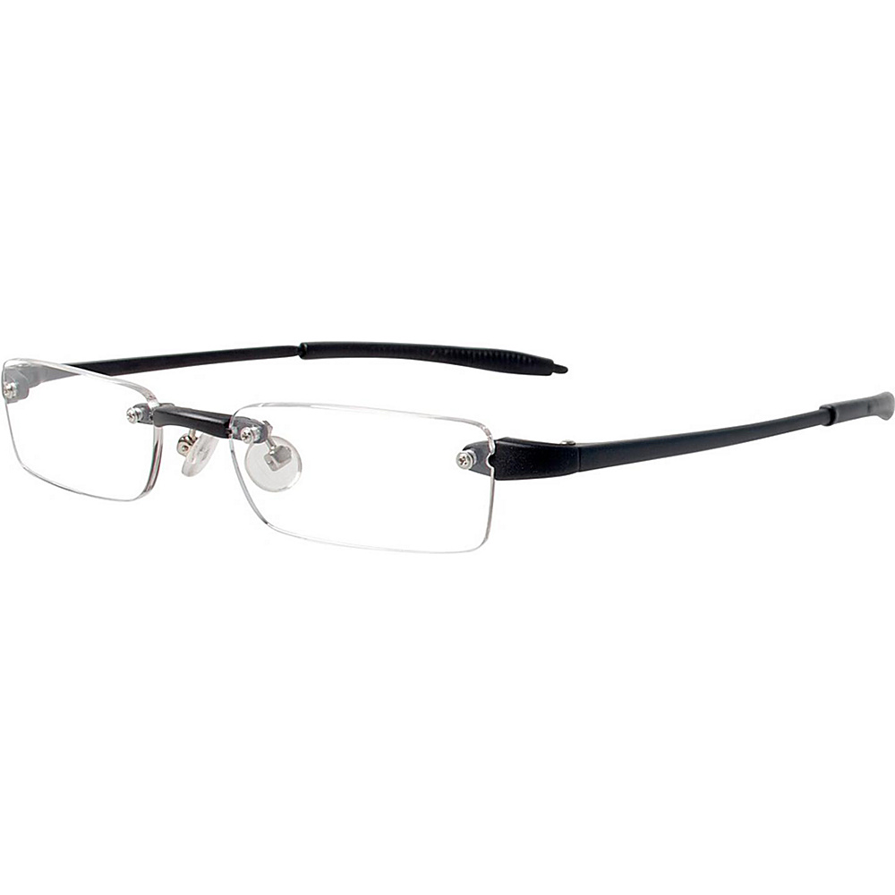 Visualites Half Eye Reading Glasses 3.00 Black Visualites Sunglasses