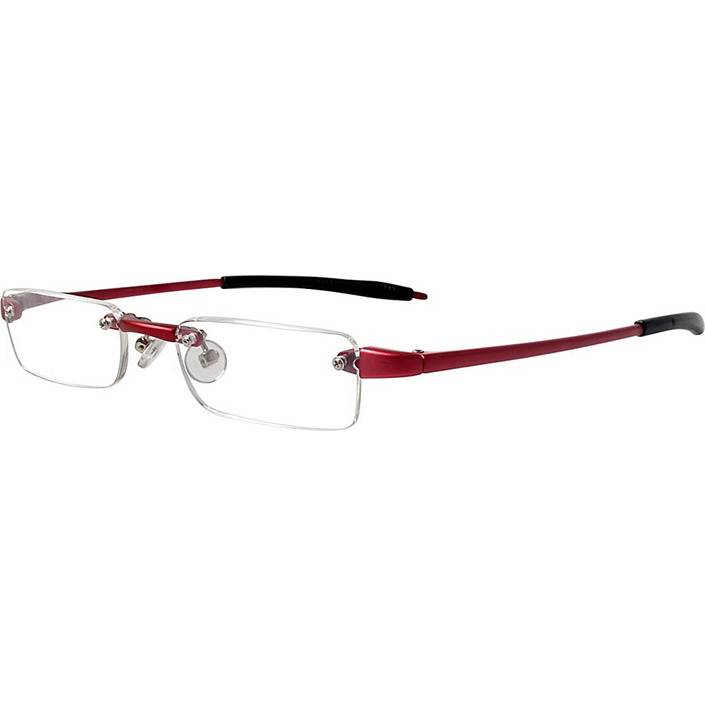 Visualites Half Eye Reading Glasses 2.00 Red Visualites Sunglasses