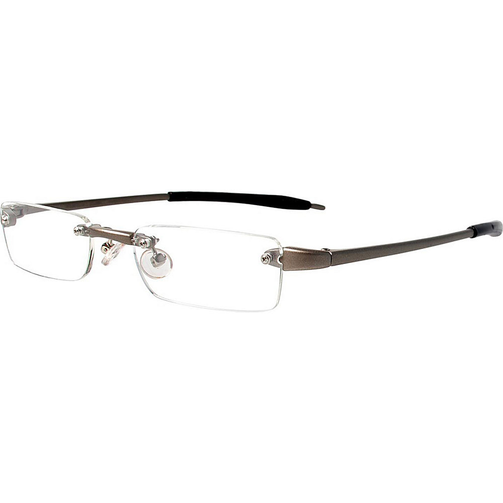Visualites Half Eye Reading Glasses 2.50 Taupe Visualites Sunglasses