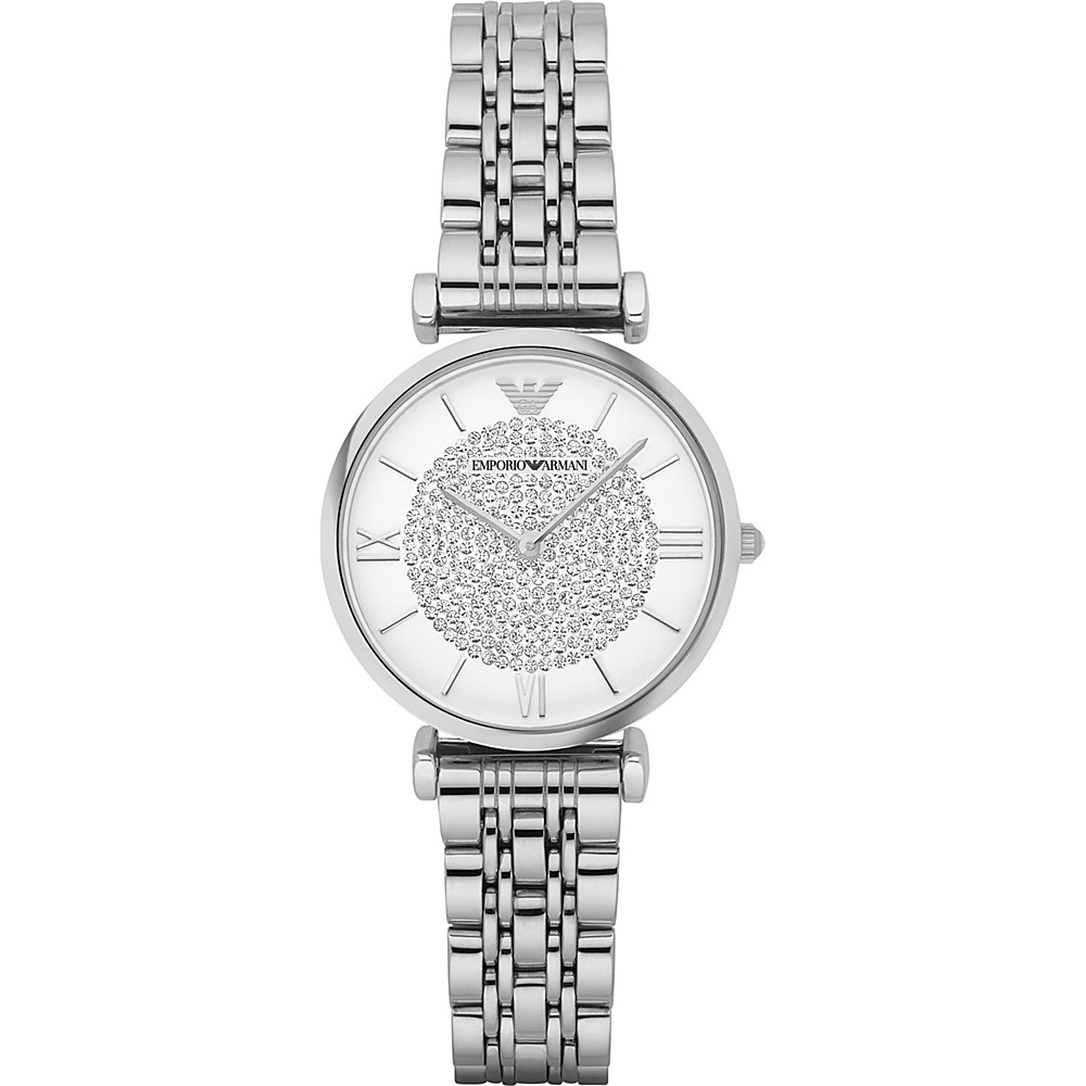 Emporio Armani Retro Watch Silver Emporio Armani Watches