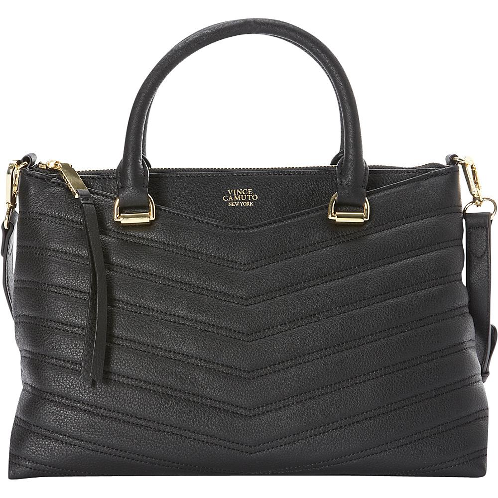 Vince Camuto Daz Satchel Black Vince Camuto Designer Handbags