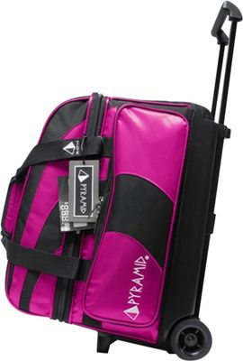 Pyramid Path Double Roller Bowling Bag Hot Pink - Pyramid Bowling Bags