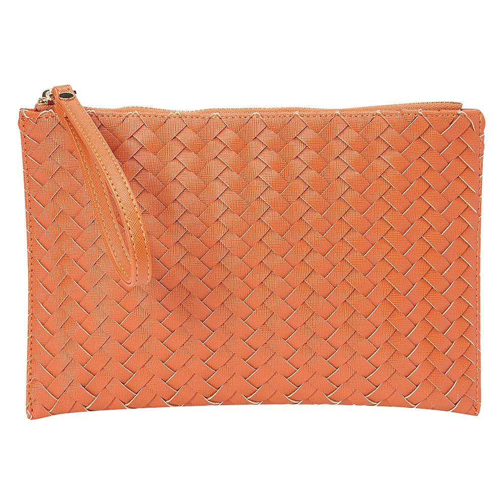 deux lux Mott Pouch Pumpkin deux lux Manmade Handbags