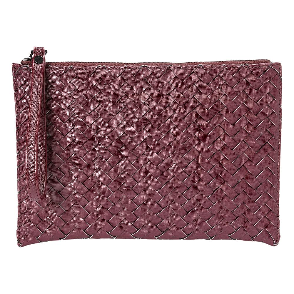 deux lux Mott Pouch Wine deux lux Manmade Handbags