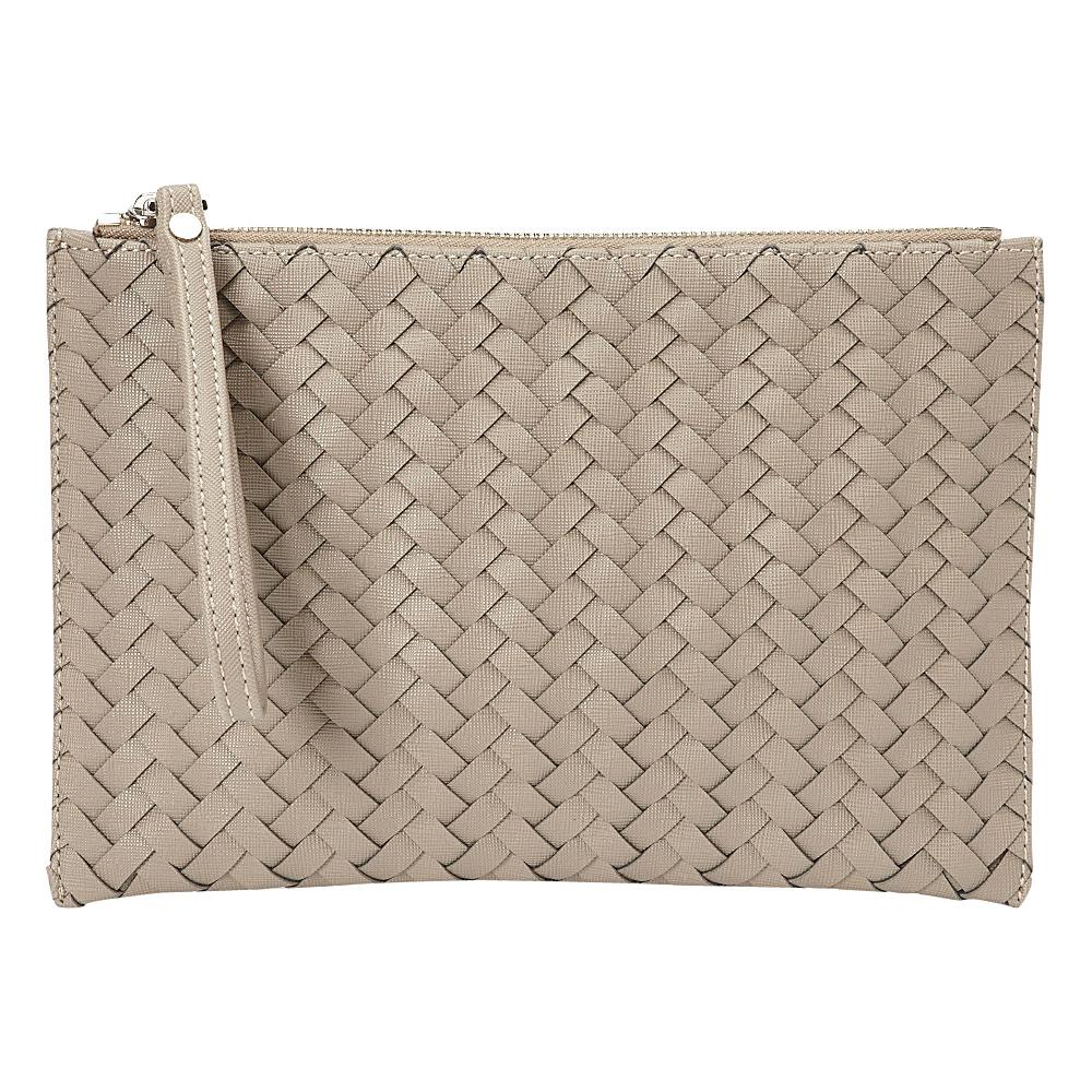 deux lux Mott Pouch Grey deux lux Manmade Handbags