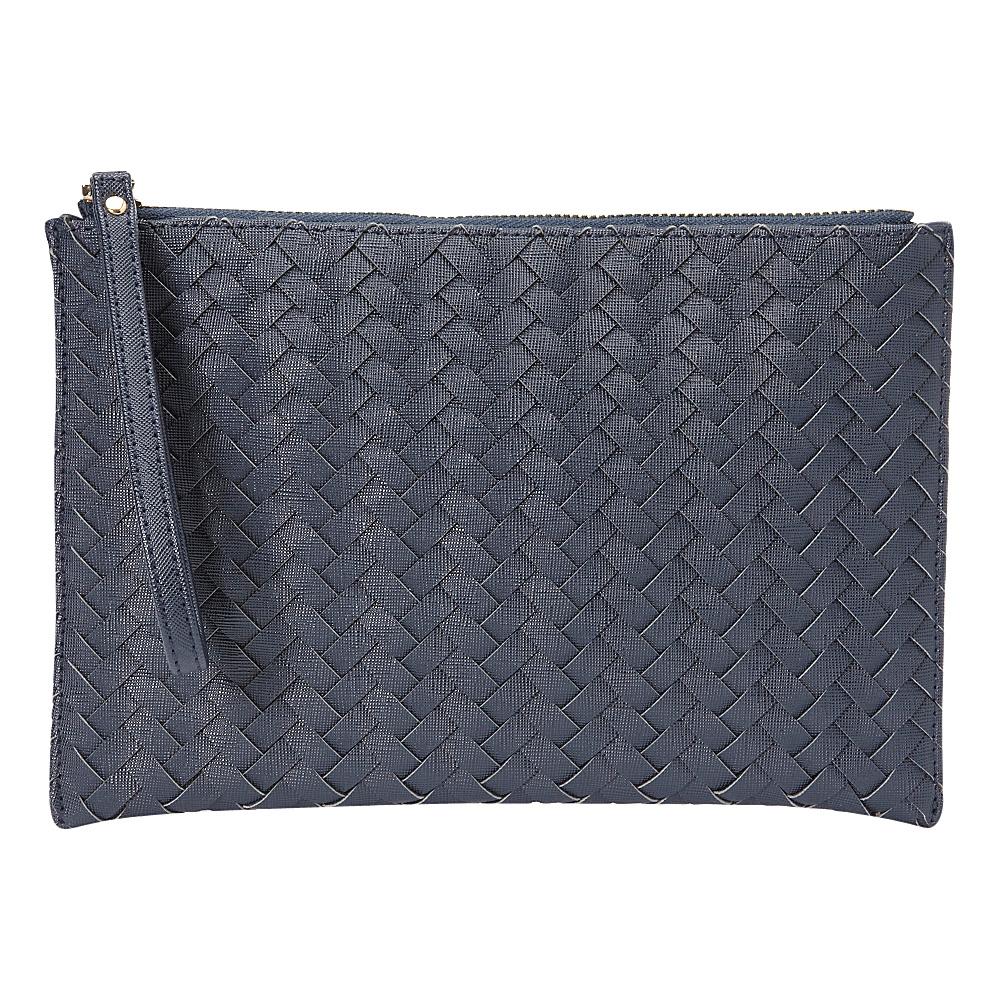 deux lux Mott Pouch Navy deux lux Manmade Handbags