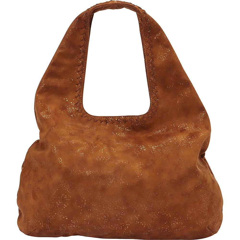 deux lux Ingrid Hobo Cognac deux lux Manmade Handbags