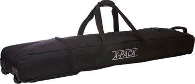 X-Pack Rolling Ski Bag Black - X-Pack Ski and Snowboard Bags