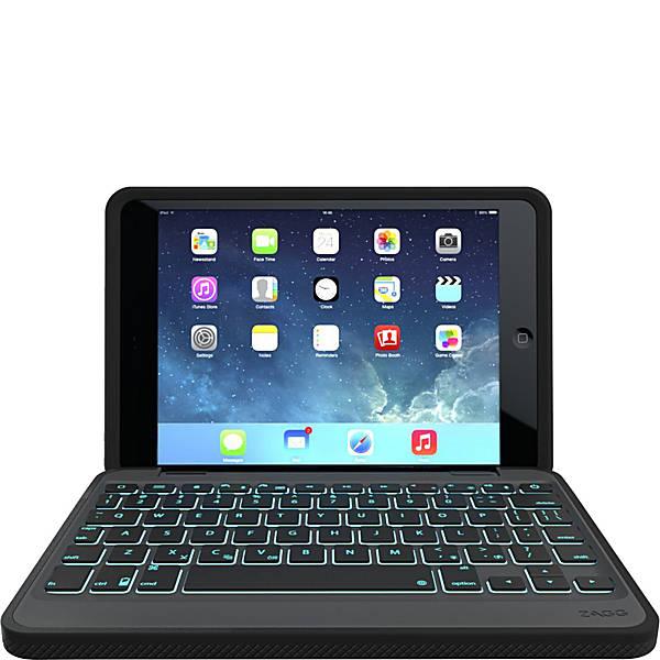 Zagg Rugged Durable Hinged Keyboard Case For Ipad Mini