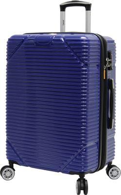 LUCAS Troy 28 inch Exp Hardside Spinner Cobalt - LUCAS Hardside Checked