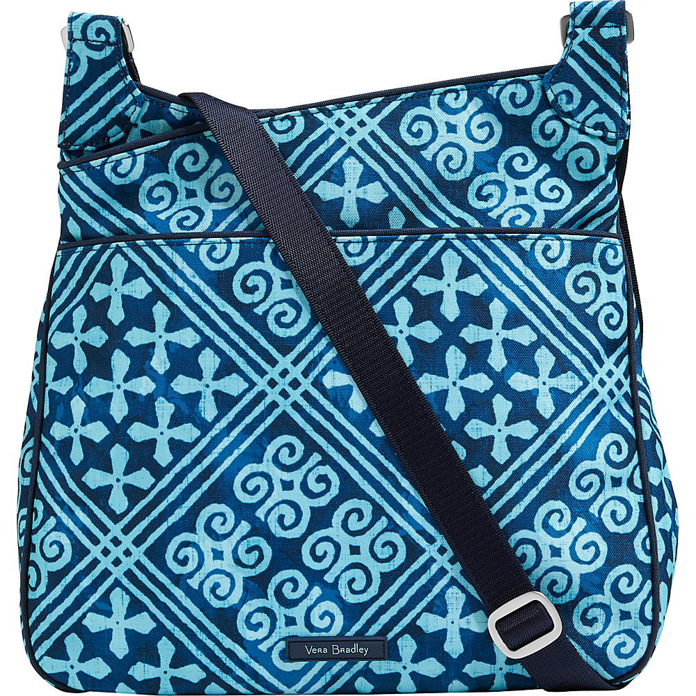 Vera Bradley Lighten Up Slim Crossbody Cuban Tiles - Vera Bradley Fabric Handbags - Handbags, Fabric Handbags