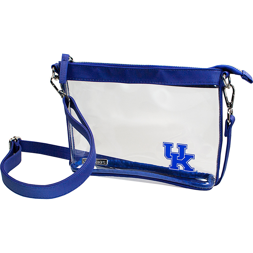 Capri Designs Small Ncaa Crossbody Licensed University Of Kentucky Manmade Handbags