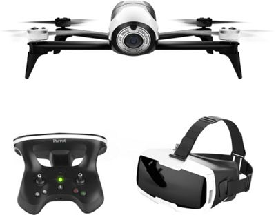 Parrot BeBop 2 Drone with FPV Bundle White-Black - Parrot Cameras