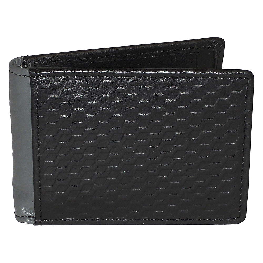 Buxton Bellamy RFID Front Pocket Flip Wallet Black - Buxton Mens Wallets - Work Bags & Briefcases, Men's Wallets