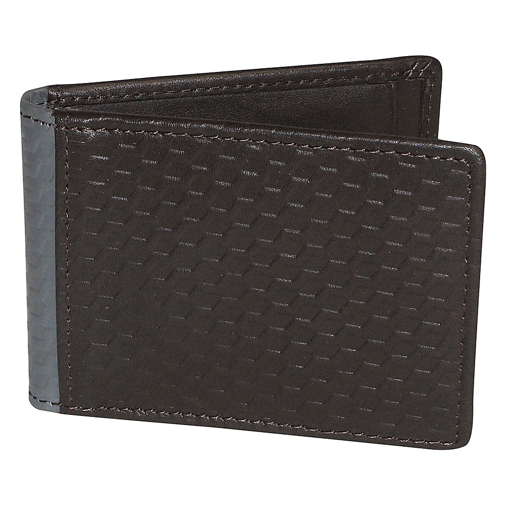 Buxton Bellamy RFID Front Pocket Flip Wallet Brown - Buxton Mens Wallets - Work Bags & Briefcases, Men's Wallets
