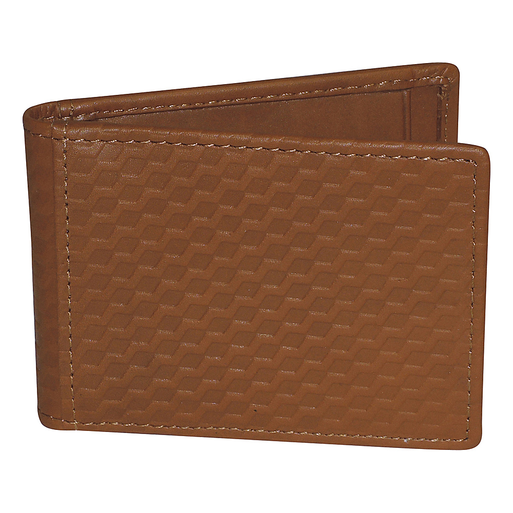 Buxton Bellamy RFID Front Pocket Flip Wallet Tan - Buxton Mens Wallets - Work Bags & Briefcases, Men's Wallets