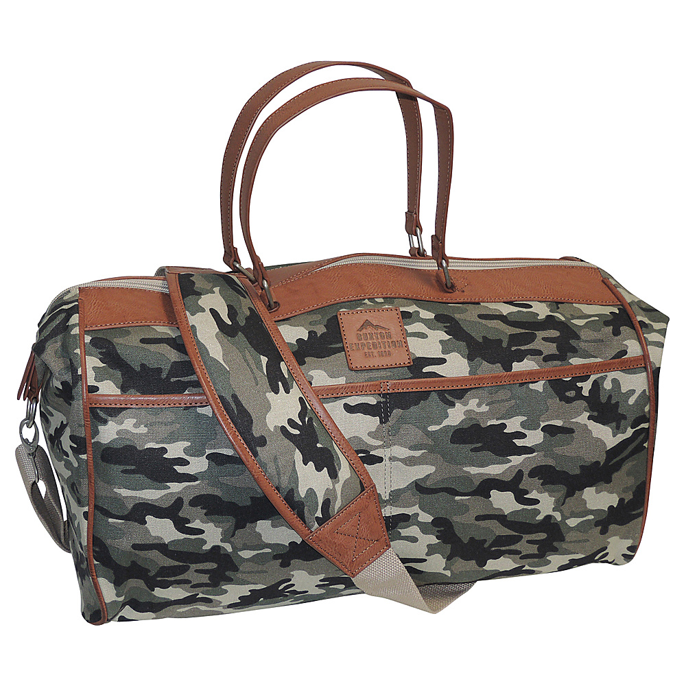 Buxton Expedition II Huntington Gear Duffel Camouflage - Buxton Travel Duffels - Duffels, Travel Duffels