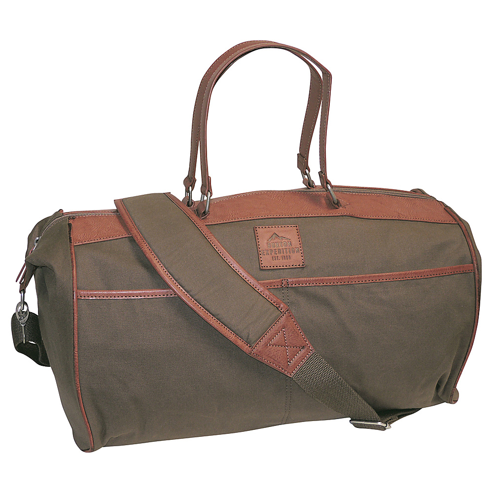 Buxton Expedition II Huntington Gear Duffel Olive - Buxton Travel Duffels - Duffels, Travel Duffels