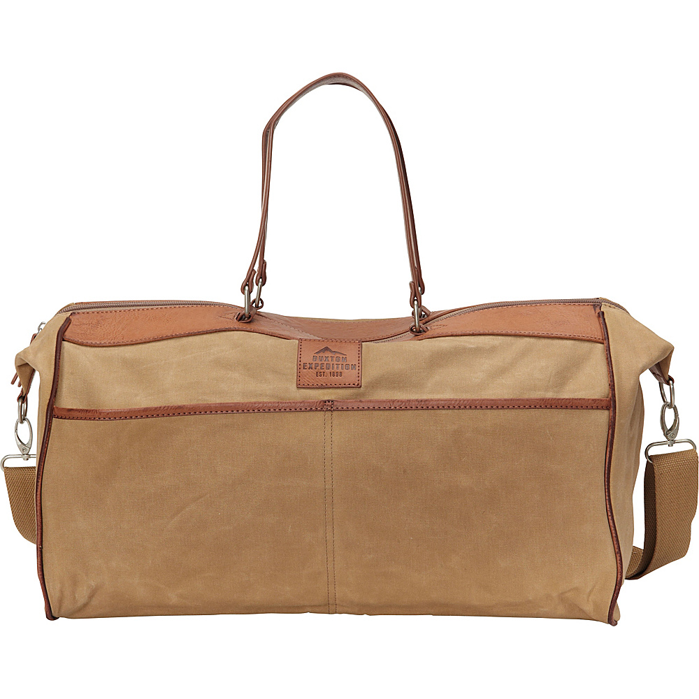 Buxton Expedition II Huntington Gear Duffel Tan - Buxton Travel Duffels - Duffels, Travel Duffels