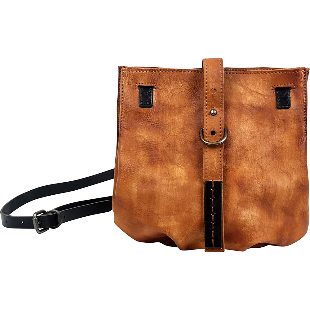 Old Trend Long Grass Crossbody Chestnut Old Trend Leather Handbags