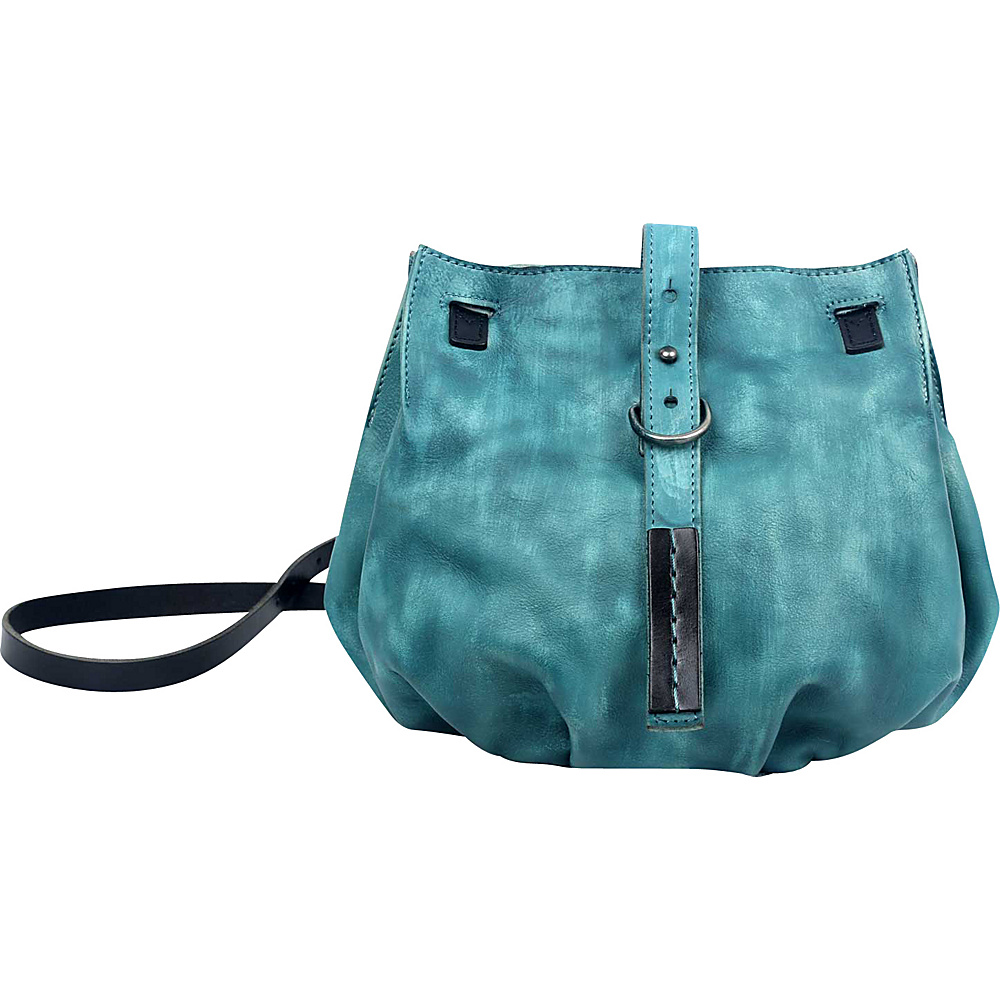 Old Trend Long Grass Crossbody Aqua Old Trend Leather Handbags