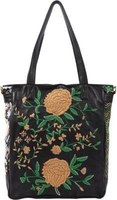 Old Trend El Cosmica Tote Black - Old Trend Leather Handbags