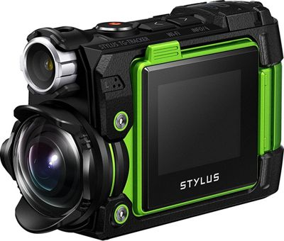 Olympus Tough TG-Tracker Digital Camcorder Green - Olympus Cameras